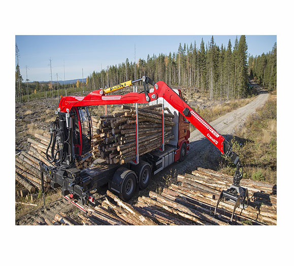 TIMBER HAULAGE AND RECYCLING CRANES - CRANAB